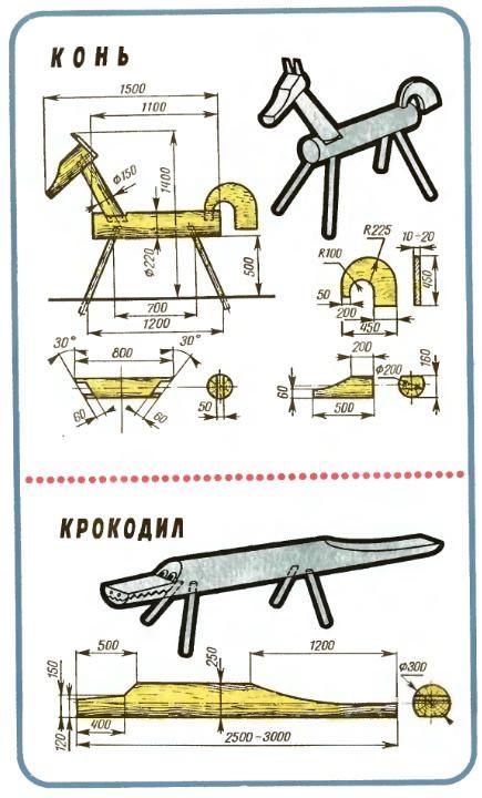 Как сделать коня из бревна - Keramoplitnn.ru