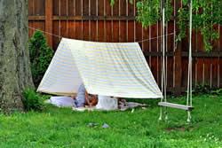 домик-палатка для детишек
