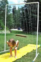 детский дачный душ