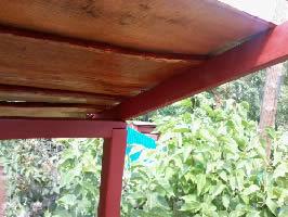 Детская площадка своими руками - крыша детского домика